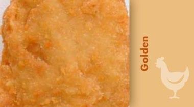 golden breaded chicken
