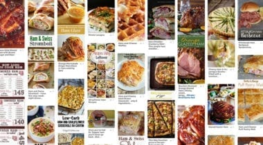 ham pinterest collage