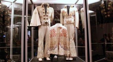 Elvis Presley museum display