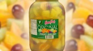 fresh valley fruit salad 8 pound jar