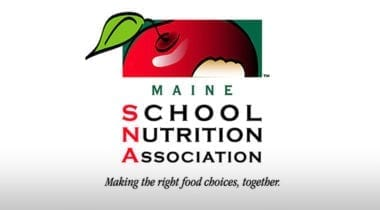 Maine School Nutrition Association logo