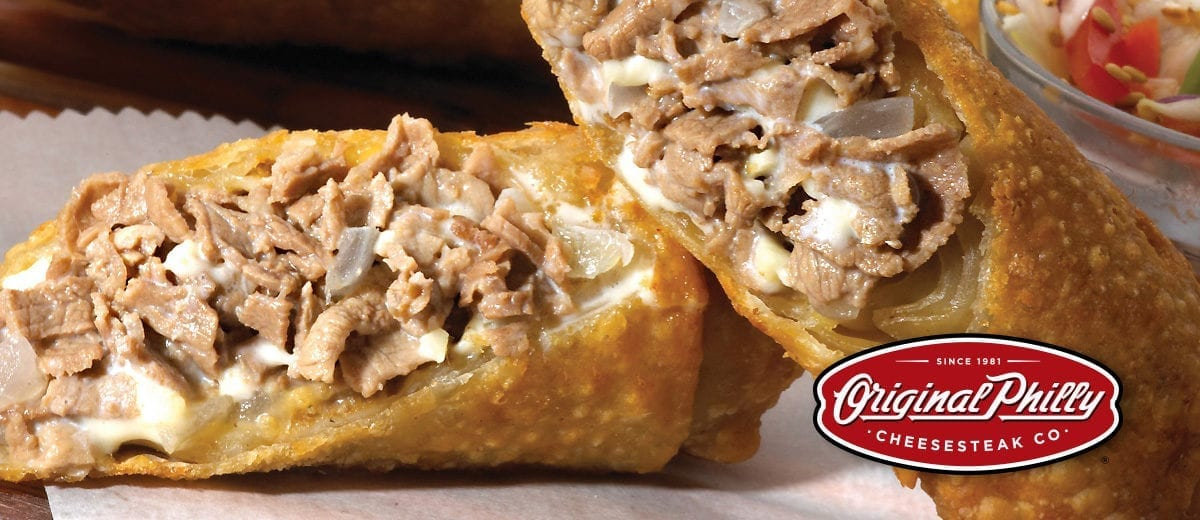 original philly cheesesteak egg rolls