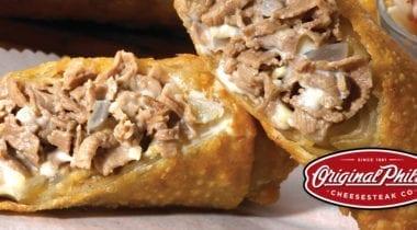 original philly cheesesteak egg rolls