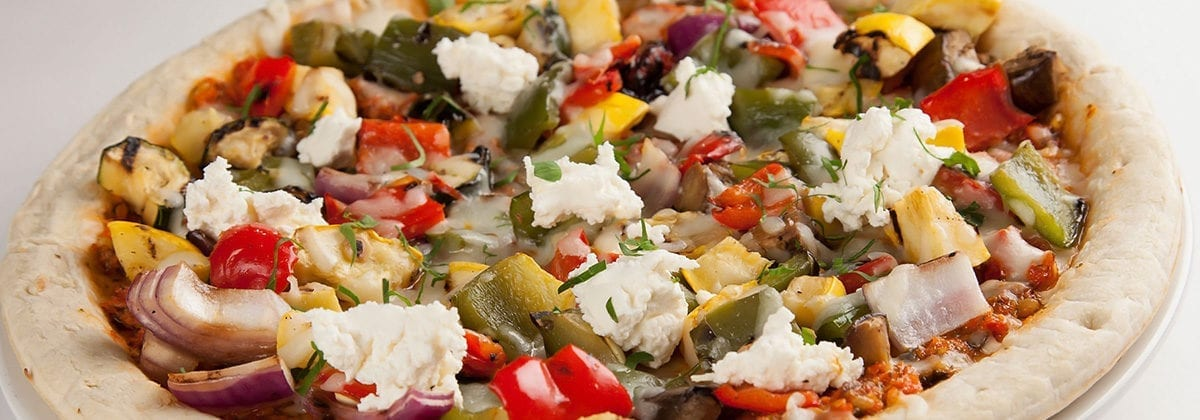 loaded veggies pizza