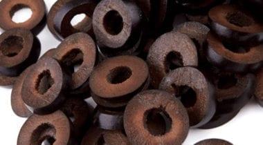 black sliced olives