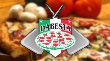 dabesta pizza logo
