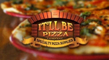 it'll be pizza logo