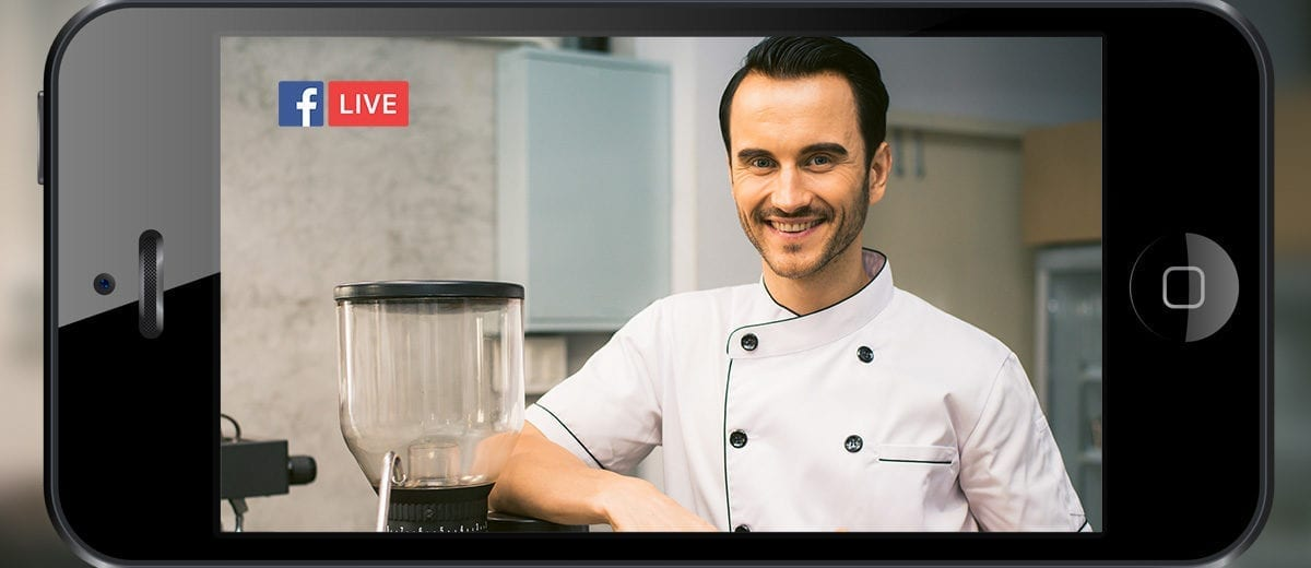 man, smiling chef