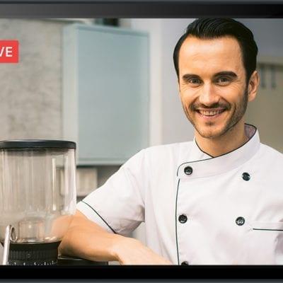 man, smiling chef