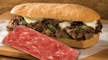 advance philly cheese steak sandwich