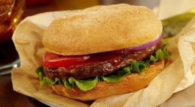 burger with udi's gluten-free bun