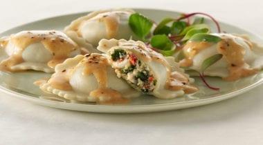 joseph's gluten-free chicken and kale raviloli