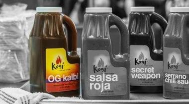 kogi OG Kalbi sauce bottle highlighted