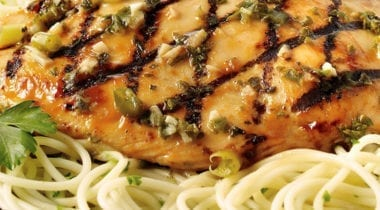 tyson grilled marinated chicken breast dish