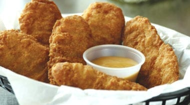 tyson breaded chicken tenderloins with dipping sauce