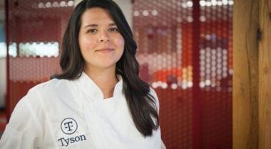 woman, tyson chef