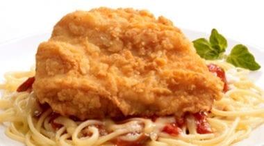 tyson chicken breast on pasta