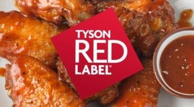 tyson red label logo