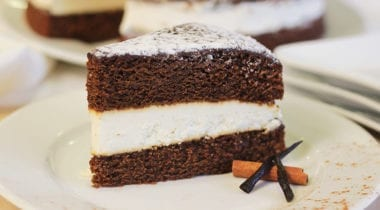 dianne's rustic gingerbread cake with icing