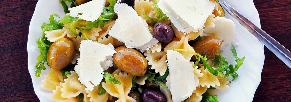 bowtie pasta dish