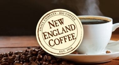 new england coffee logo