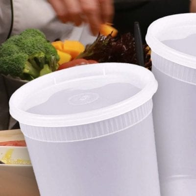 clear deli containers