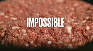 impossible burger banner