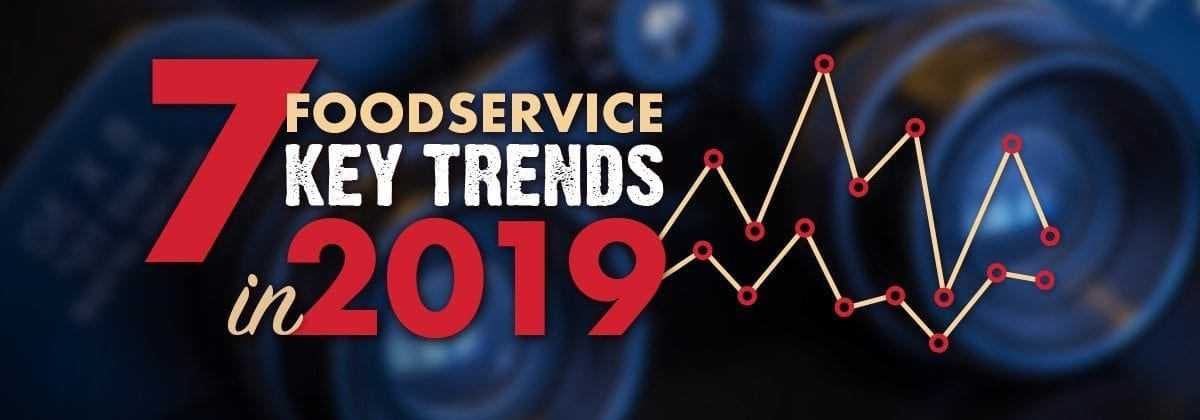 2019 food trends graphic