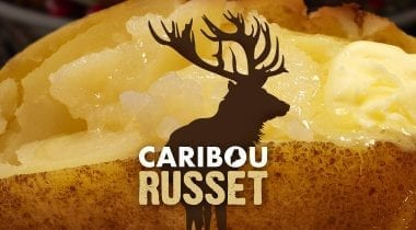 caribou russet potatoes graphic