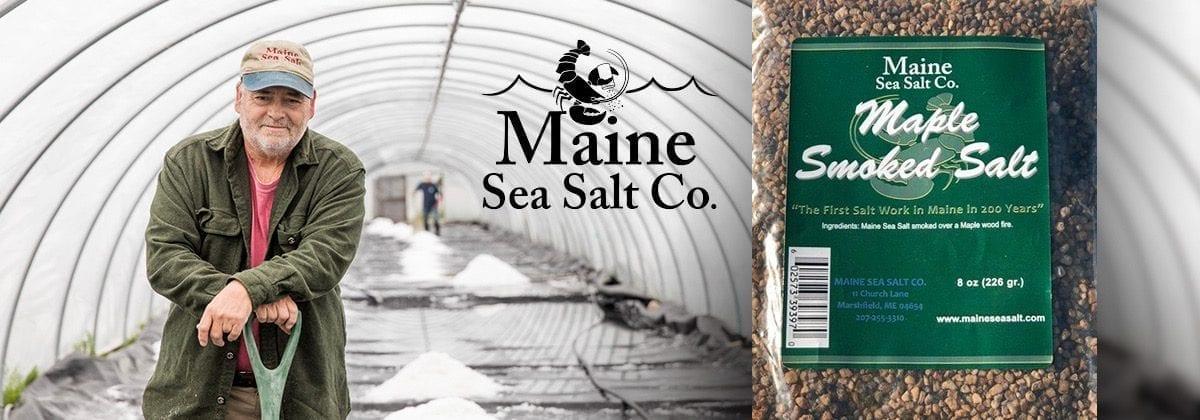 maine sea salt banner
