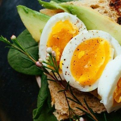 soft boiled egg breakfast