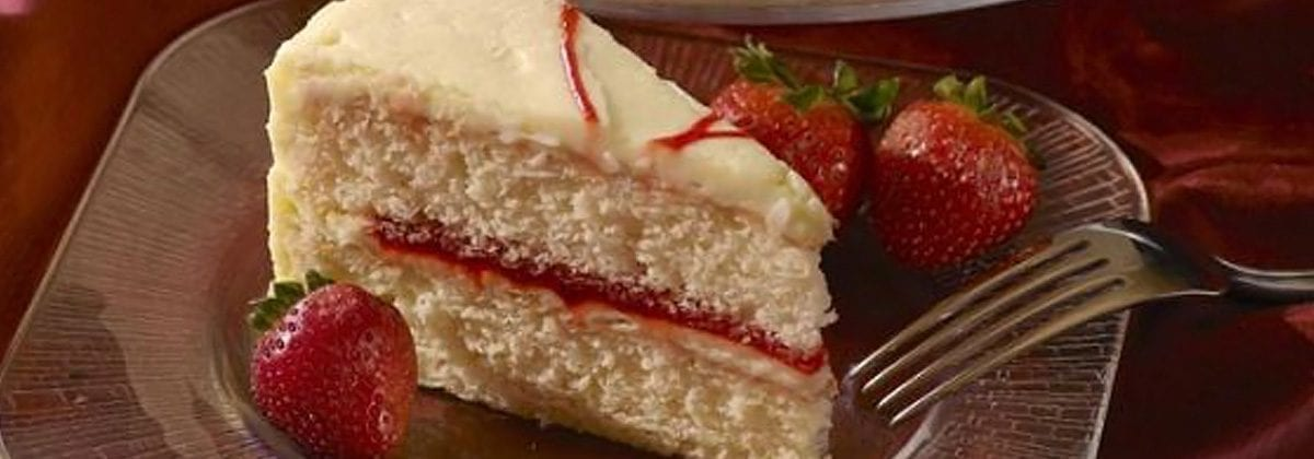 Pellman strawberry cake