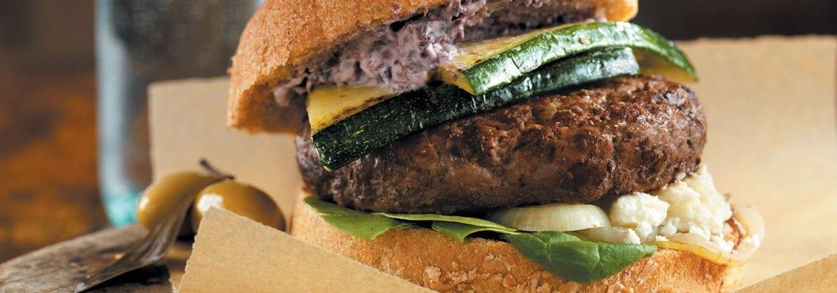 stack cheeseburger