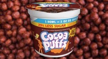 cocoa puffs, school single serve bowl
