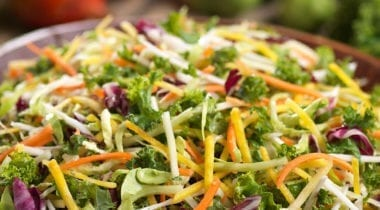 shredded vegetable blend