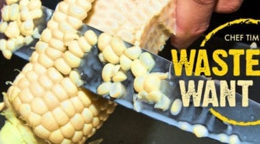 corn cob, waste-not want-not graphic