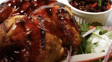 cooked bbq chicken