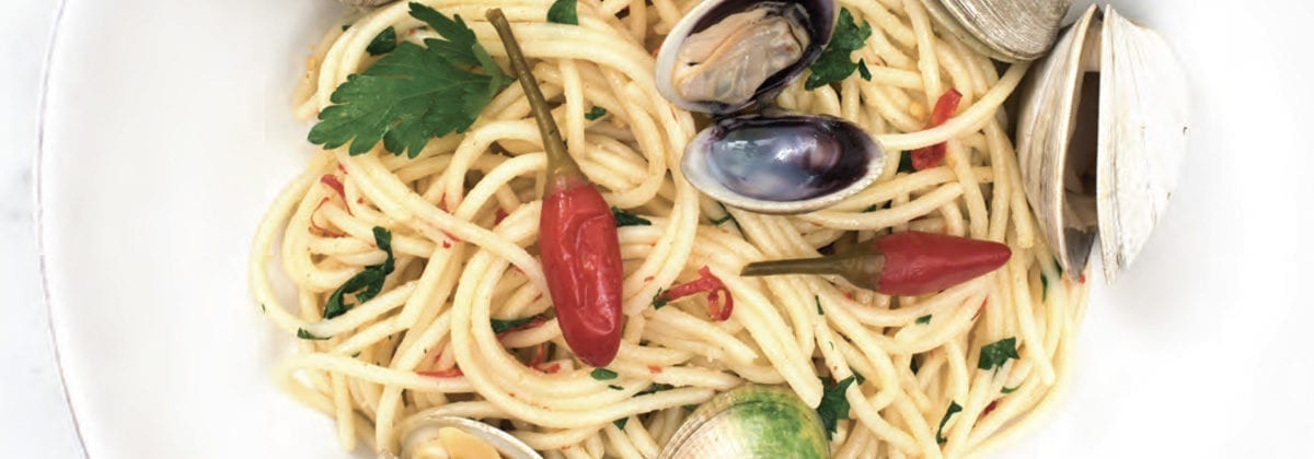 calabrian chili pepper in pasta dish