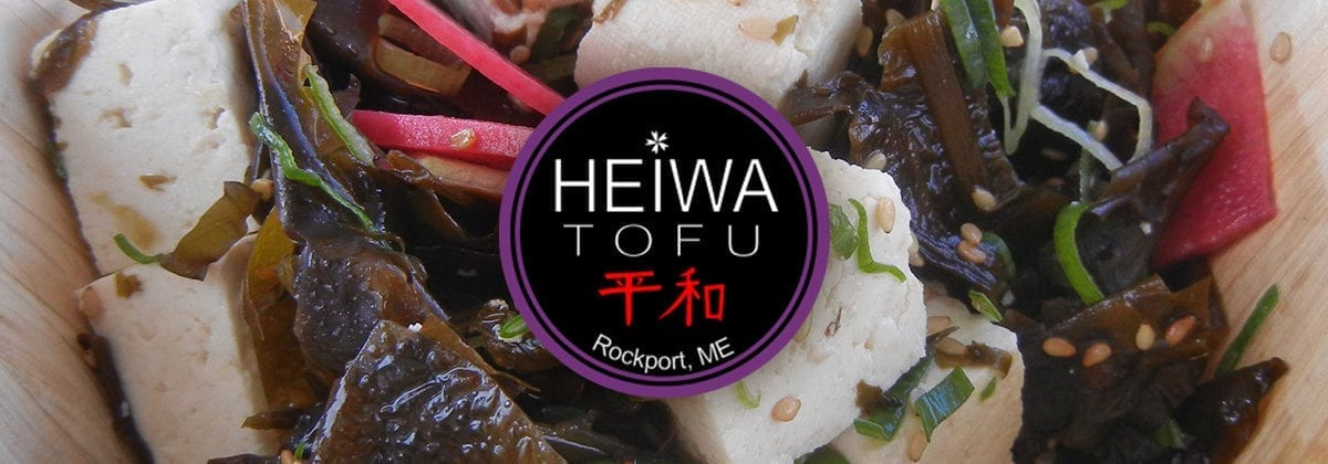 heiwa tofu logo graphic