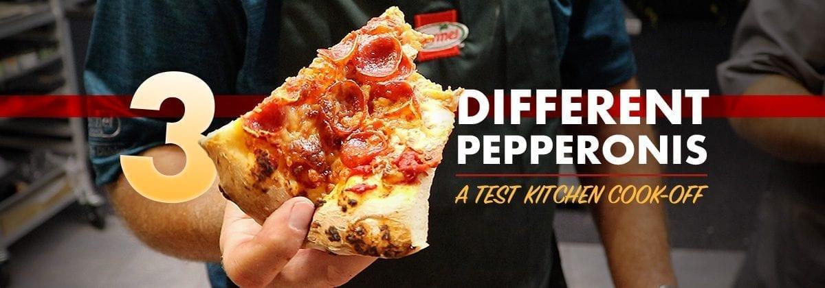 pizza, pepperoni debate graphic