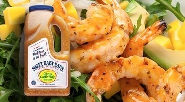 seasoned cooked shrimp