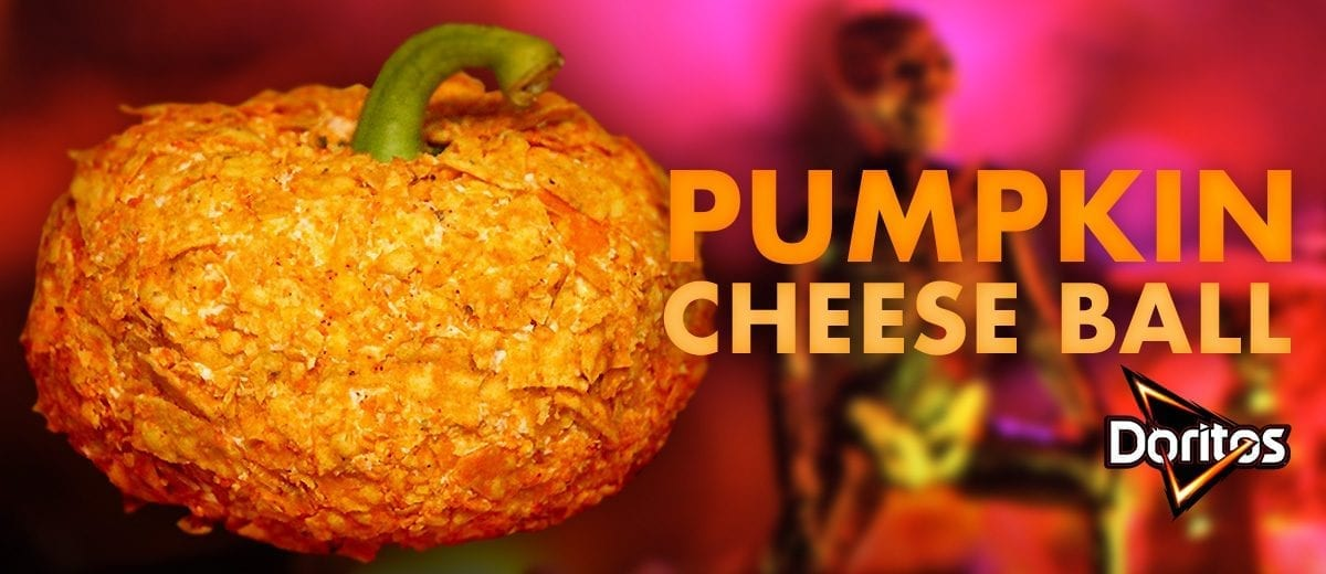 pumpkin cheese ball graphic