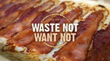 bacon, waste-not want-not graphic