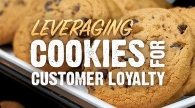 cookies, customer loyalty graphic
