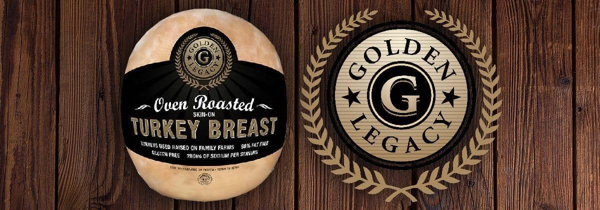 deli turkey breast, golden legacy