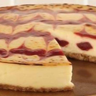 strawberry cheesecake brulee
