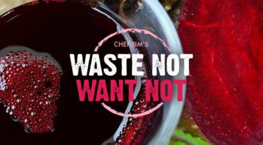 waste not want not, beet dye graphic
