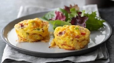 egg quiche cups