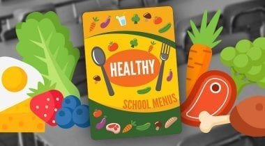 school menu artwork