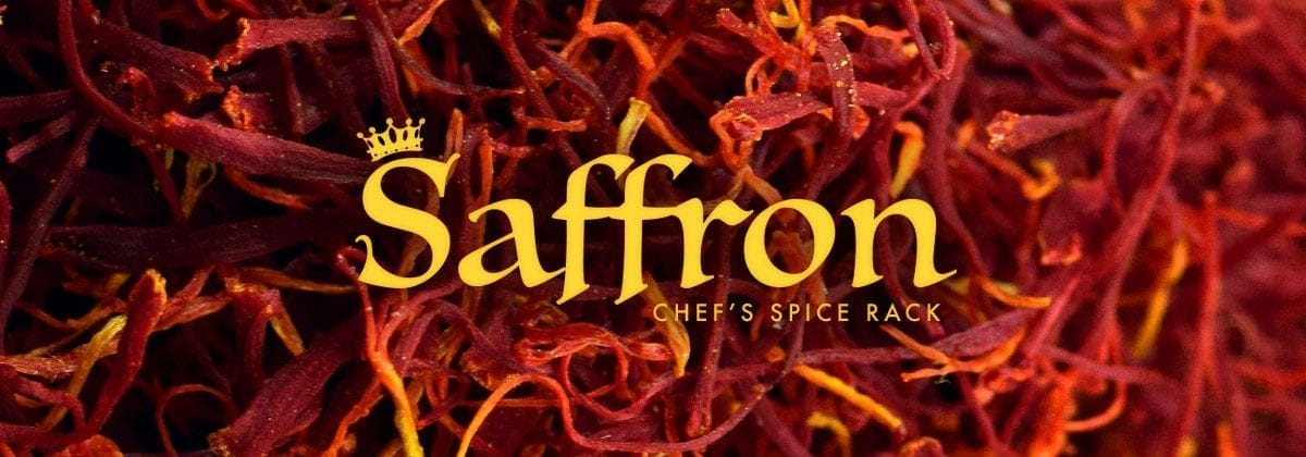 saffron chef spice rack